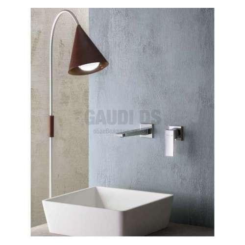 Alpi Una стенен смесител за мивка, хром