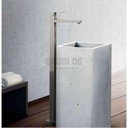 Alpi Una стоящ на пода смесител за мивка, хром UN 18278/S CR+AC 274