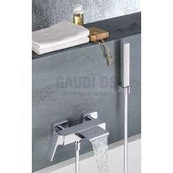 Alpi Una смесител за душ/вана - каскаден с подвижен душ