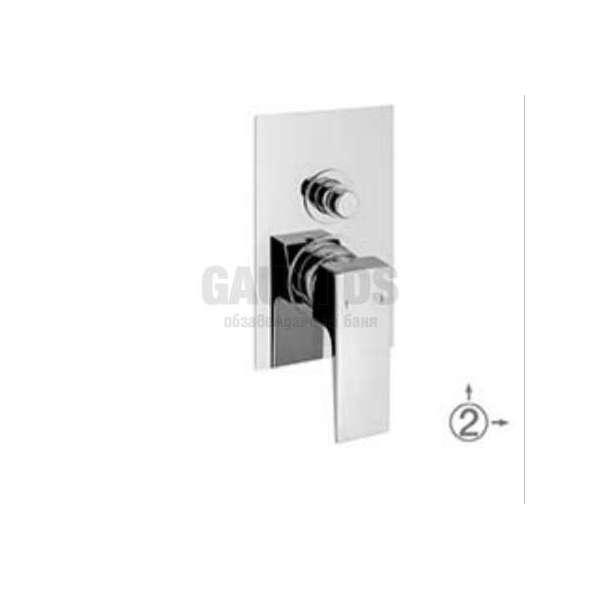 Alpi Una скрит смесител за вана/душ, хром UN 18A863 CR