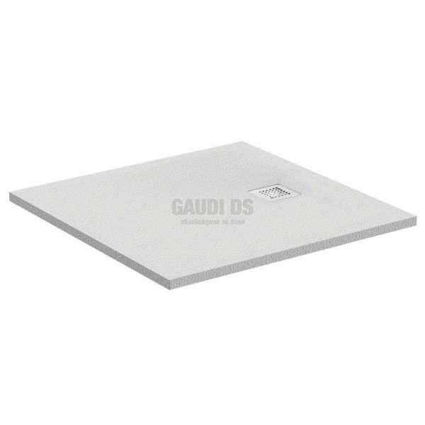 Ultra Flat S квадратно поддушово корито 100х100 см, бяло K8216FR