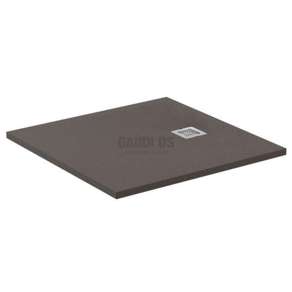 Ultra Flat S квадратно поддушово корито 90х90 см, тъмна мока K8215FU