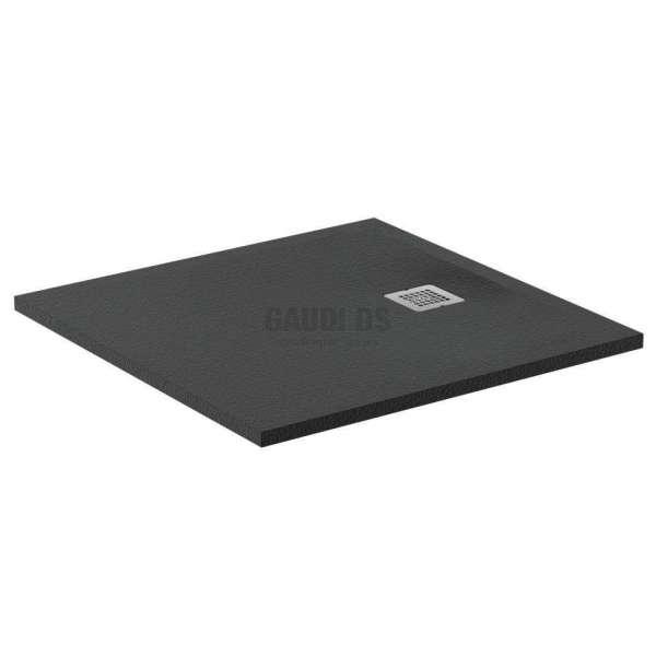 Ultra Flat S квадратно поддушово корито 80х80 см, тъмен графит K8214FV