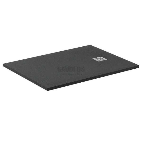 Ultra Flat S поддушово корито 120х80 см, тъмен графит K8227FV