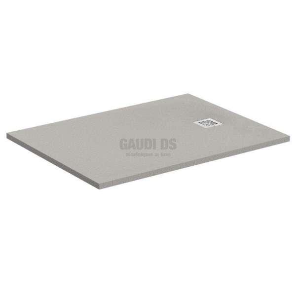 Ultra Flat S поддушово корито 90х70 см, бетонено сиво K8190FS