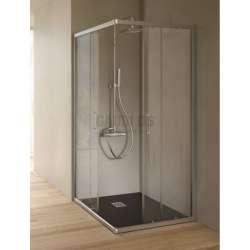 Hafro квадратна душ кабина 72х72 прозрачна 2хFOA1MR070