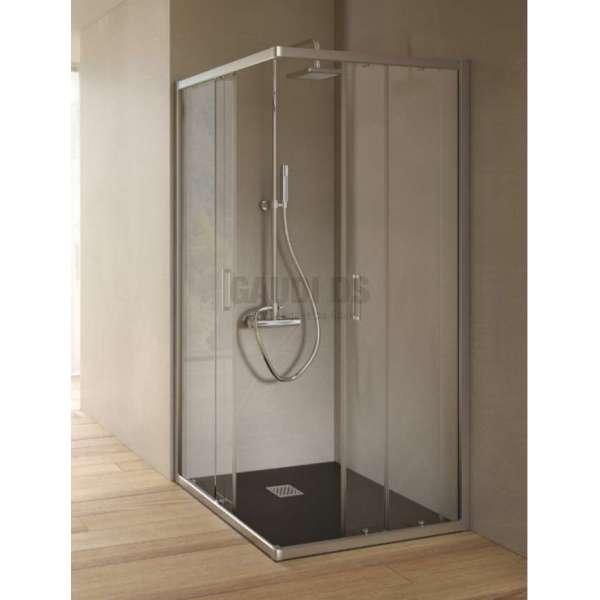 Hafro квадратна душ кабина 80х80 прозрачна 2хFOA1MR077
