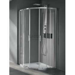 Hafro заоблена душ кабина 90х90 прозрачна FOC1IR087