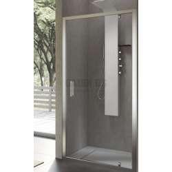 Hafro правоъгълна душ кабина 80х90, една отваряема врата FOP4IR077+FOF1MR087