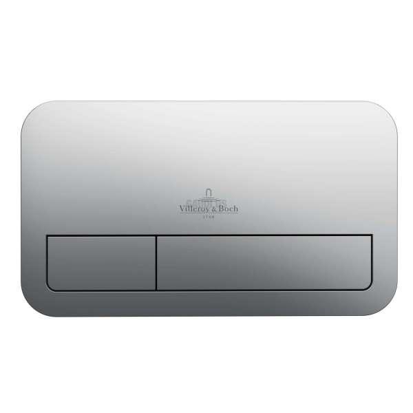 Villeroy & Boch ViConnect E200 WC бутон хром мат 92249069