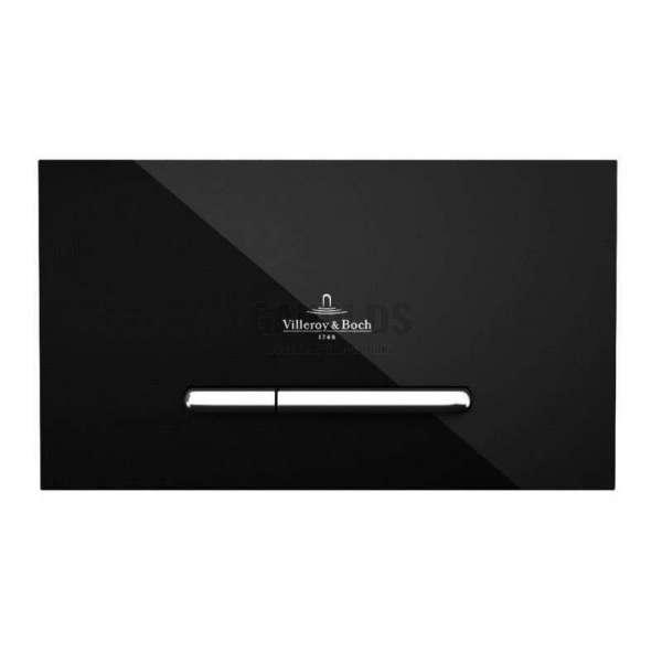 Villeroy & Boch ViConnect M300 WC черен стъклен активатор 922160RB