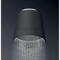 Alpi Fred душ глава с Led осветяване - долно, черна, за стена FDP02 CR NE