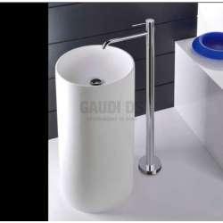 Alpi Blue смесител за мивка стоящ на пода, хром BU 85278/S CR