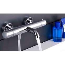 Alpi Blue термостатен смесител за вана/душ, хром 2
