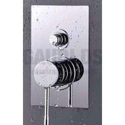 Alpi Blue вграден смесител за душ с превключвател, хром BU 85863 CR