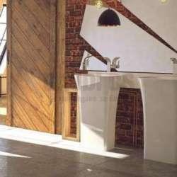 Besco Assos свободно стояща мивка 40 x 50 x 85 см, бяла besco_UMD-A-WO