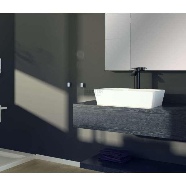Besco Assos мивка за плот 40x50x15 см, бяла besco_UMD-A-NB