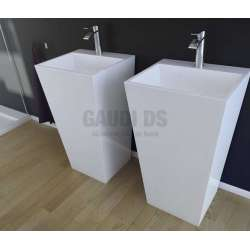 Besco Vera свободно стояща мивка 40x50x85 см, бяла besco_UMD-V-WO