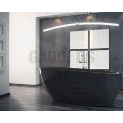 Besco Goya Black 160 свободностояща вана 160х70 см, черна Besco_WMD-160-GB