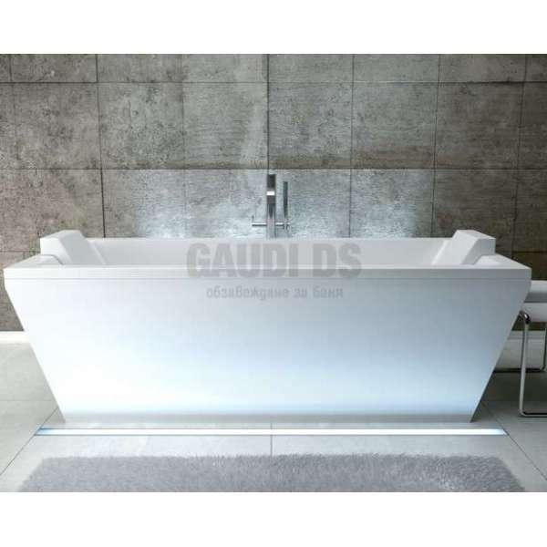 Besco Vera 180 свободностояща вана 180х80 см, бяла Besco_WKV-180-WO