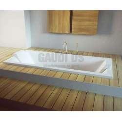 Besco Vera 180 вана за вграждане в под 180х80 см, бяла Besco_WKV-180-WZ