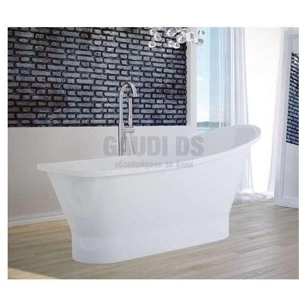 Besco Gloria 160 свободностояща вана 160х68 см, бяла Besco_WMD-160-GL