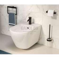 Gedy Pirenei държач за тоалетна хартия, черен мат 2