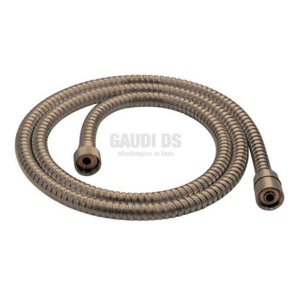 Gedy INOX бронз метален шлаух, 150см функция против усукване GYFX10105