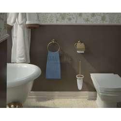 Gedy Romance държач за тоалетна хартия в ретро стил с капаче 1