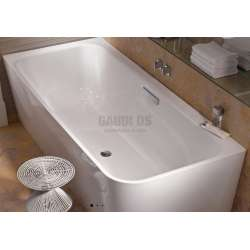 BetteArt IV правоъгълна, свободностояща вана до стена 185х80 см