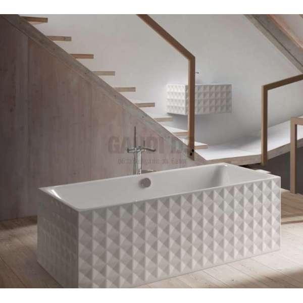 BetteLoft Ornament правоъгълна вана, свободностояща 181х81 см - бяла 3172-000CFXX6A