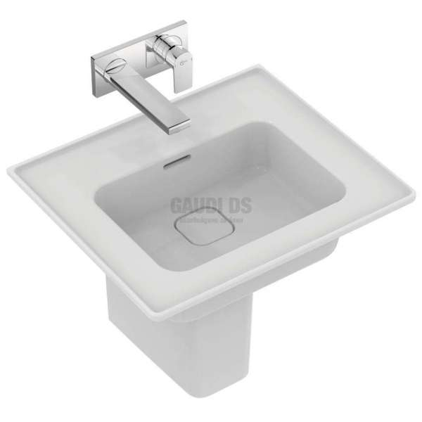 Ideal Standard Strada II 54 см мивка за вграждане в мебел без отвор за смесител T3632