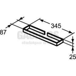Ideal Standrd Adapto Cubo хавлийник 35 см 2