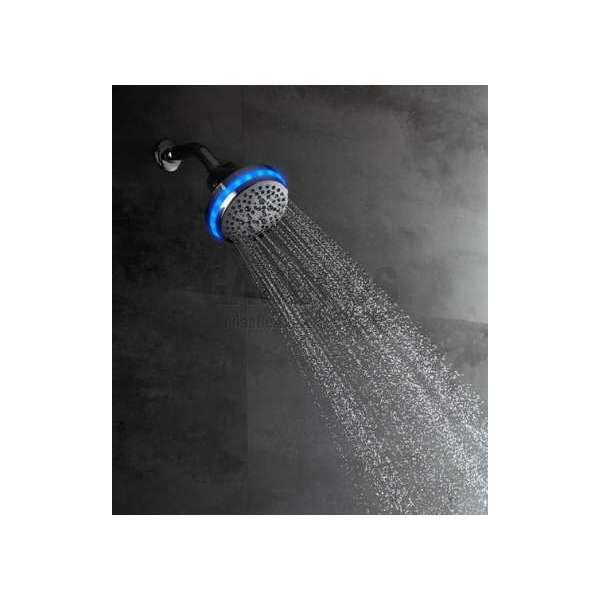 LED кръгла душ пита d - 12 см и сензор движение, 4 функции BI4JRSA
