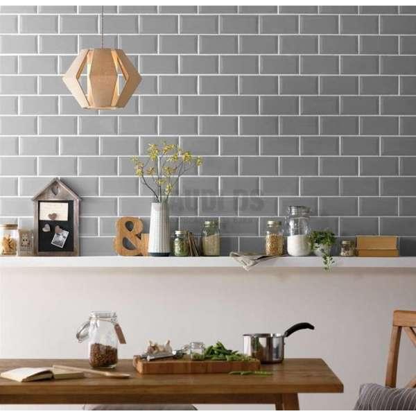 Metro 10x20 плочки за баня и кухня - бял, сив, черен цвят seramiksan_metro_10x20