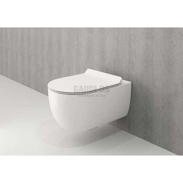 Bocchi V-Tondo Rimless конзолна WC с бидетна арматура 1416 001 0128+A0333 001