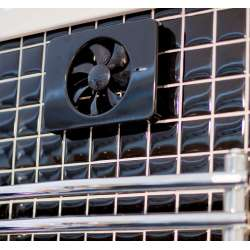 Вентилатор за баня Fresh Intellivent 2.0, черен