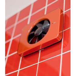 Червен панел за вентилатор за баня Fresh Intellivent 2.0 2