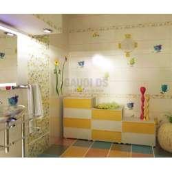 Ceramix детска баня Пилета 25х50