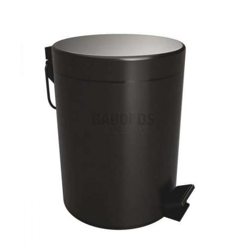"""Bemeta Dark кошче за отпадъци """"Soft Close"""", черен мат"""