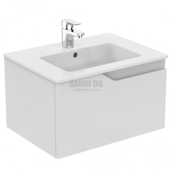Комплект Ideal Standard мивка Tempo + шкаф Imagine бял E7212WG+E066801