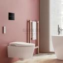Roca Inspira in Wash 3 в 1 - структура, WC, капак забавено падане, черен бутон