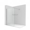ROCA Victoria DF800 фиксиран душ параван 80см- прозрачно стъкло
