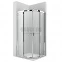 Roca Ura MR овална душ кабина 90х90 - прозрачно стъкло
