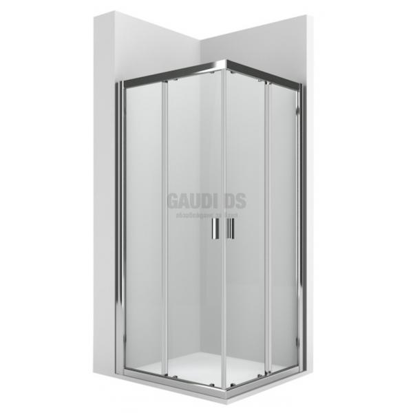 ROCA Ura L2 квадратна душ кабина 100х100 - прозрачно стъкло AM13910012+AM13910012