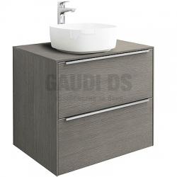 Комплект Roca City Oak Inspira шкаф 60 см + мивка Inspira Soft 37 см