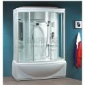 Парна хидромасажна душ кабина 151х86, дълбоко корито