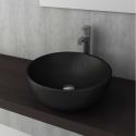 Bocchi Venezia 45см умивалник за монтаж върху плот черен мат
