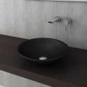 Bocchi Venezia 40см умивалник за монтаж върху плот черен мат
