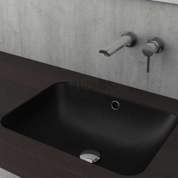 Bocchi Taormina Pro 55см умивалник под плот черен мат 1006 004 0125